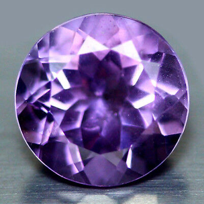 2.52 Ct Aaa! Natural! Purple Clr Change To Pink Brazilian Amethyst Round