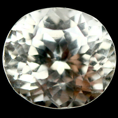6.30 Ct Natural! Yellow Afghanistan Spordumene Oval