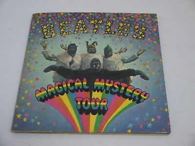 Beatles 'Magical Mystery Tour' EP with Blue Lyric Sheet, Mono (JW3)