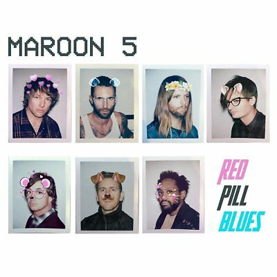 Maroon 5 - Red Pill Blues (NEW DELUXE CD ALBUM)