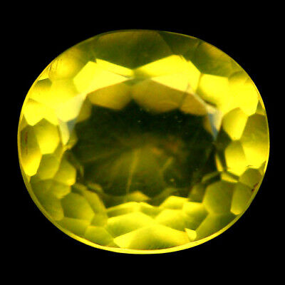 3.86 Ct Natural! Yellow Mexican Opal Oval