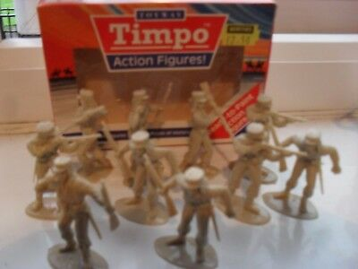timpo boxed solid action figures, foreign legion