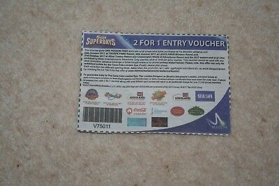 The Sun - 2 For 1 Entry Voucher - Merlin Attractions Valid For 2017 Season