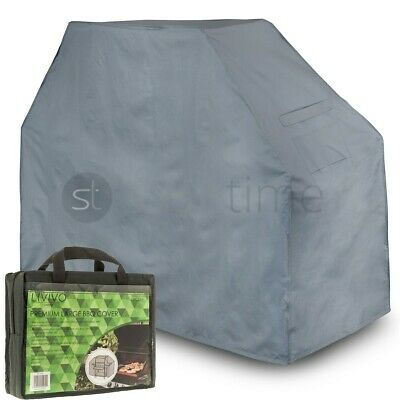 Livivo Premium Large Waterproof Bbq Cover Garden Barbeque Grill Protector W Bag