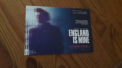 ENGLAND IS MINE - Morrissey / The Smiths Promotional Lobby Card