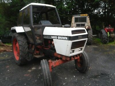 DAVID BROWN 1490 TRACTOR Breaking for spares