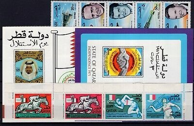 P42376/ Qatar – 1966 / 1972 Lot Neuf ** / Mint Mnh 125 €