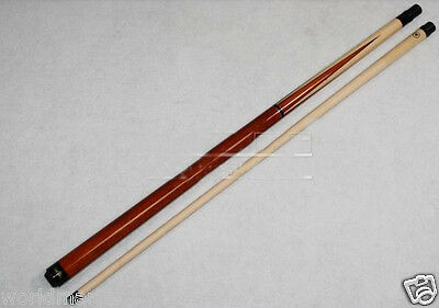 Simple British-Style Sporting Goods Wooden Length 149CM Smooth Billiard Cue &$