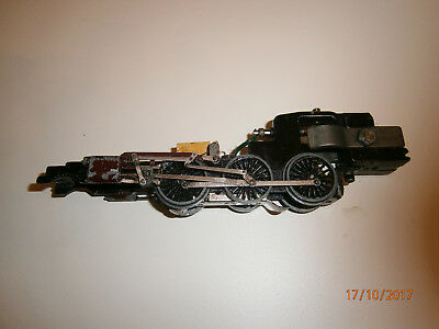 Hornby Dublo Duchess 3 loco no motor chassis no pony trucks for spares repairs