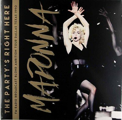 Madonna - The Party's Right Here (Limited 2 x Vinyl LP) New & Sealed