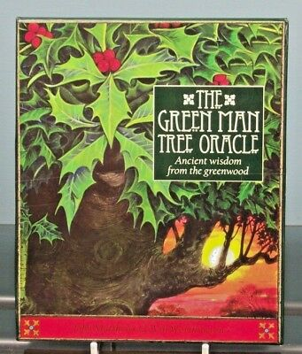 The Green Man Tree Oracle, Boxed Book and Card Set - Pre-owned