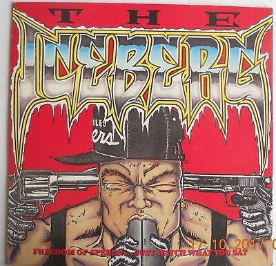 Ice-T The Iceberg + Inner LP Sire WX 316 1989 EXC