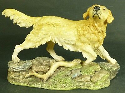 John Beswick Studio Sculptures Golden Retriever Dog
