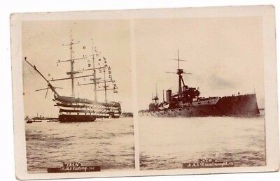 Victory & The Dreadnought (Then & Now) Posted 1907