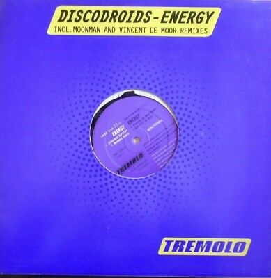 "DISCODROIDS ~ Energy ~ 12"" Single"