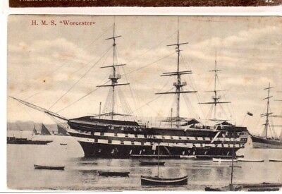 H.m.s. Worcester - Photographic Print