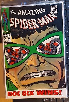AMAZING SPIDER-MAN # 55 AND #56, (1st SERIES / 1967/1968 )    VFN-