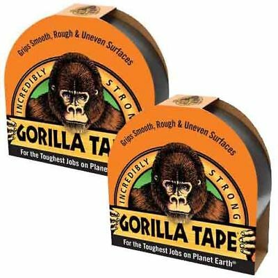 Gorilla Tape Black 11m x 48mm Waterproof Duct Tape Roll Super Strong Tough