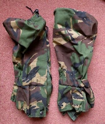 Gaiters dpm. size long. Military issue. Gore tex.