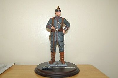 German Ww1 Das Deutsches Soldat On Wooden Base