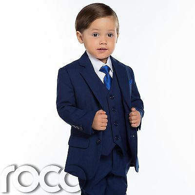 Baby Boys Blue Suit, Slim Fit Suit, Baby Suits, Blue Suits, Page Boy Suit