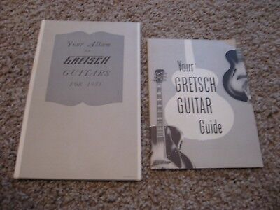 Vintage  1951 Fred Gretsch Guitar Catalog and Guide