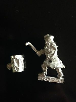 Warhammer Lord of The Rings LOTR - Mauhur Command Musician Rare Metal OOP