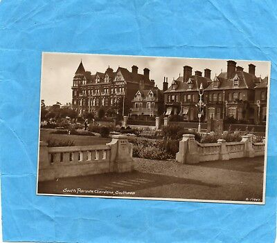 Postcard, South Parade Gardens, SOUTHSEA, Portsmouth, Hampshire