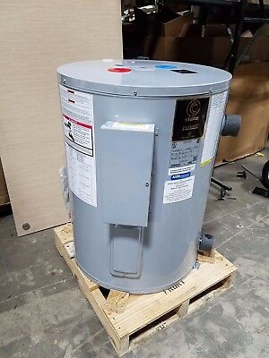 State Patriot 40-GAL Electric Water Heater Dual 4.5kw Element 208V PCE-40-2OLSA