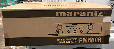 Marantz PM6006 Home Cinema Stereo Integrated Amplifier DAC Black Brand New