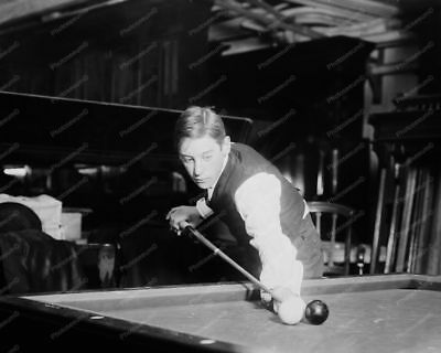 Billiards The Wizard Jake Schaefer   Professional Photo Lab Reprint