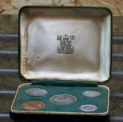 Cyprus 1963 Proof 5 coin set 1 5 25 50 100 Mils by Royal Mint in Original Box