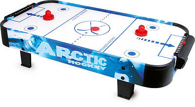 Air Hockey Table Unit for 2 Persons from Wood 5 Years CA 108 x 52 x 24 cm NEW