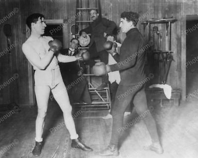 Boxers Training At Coopers Gym Professional Photo Lab Reprint