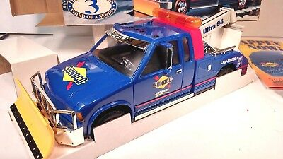SUNOCO 1996 Tow Truck with Plow with Lights & Sound, Series 3, New in Box MINT