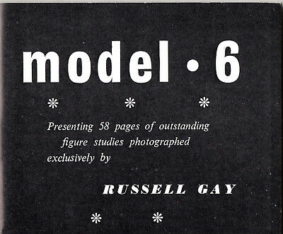 MODEL No.6:June 1958-Classic Art Study Photos by Russell Gay