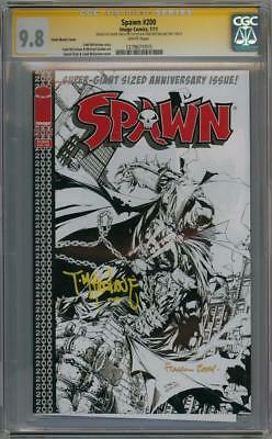 SPAWN #200 SKETCH VARIANT CGC 9.8 SIGNATURE SERIES SIGNED x2 TODD MCFARLANE