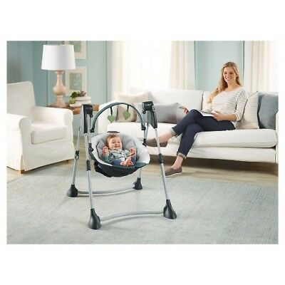 Graco Swing By Me 2 In 1 Portable Baby Swing in Boden Brand New In Box