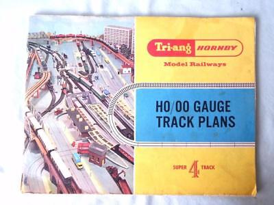 Triang Hornby Track Plan Booklet for Super 4 Track