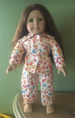 """American Girl Doll Felicity 18"""" Red Hair and Green Eyes Pleasant Company"""