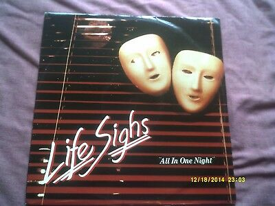 """Livesighs-All In One Night 12"""" Disco"""