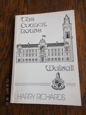The Council House Walsall Harry Richards Signed 1984