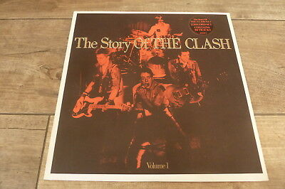 The Clash - The Story Of The Clash 1988 UK DOUBLE LP CBS EX+