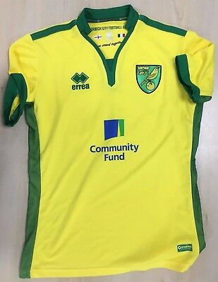 Official Norwich City Fc Replica Adult Shirts - Ex Display