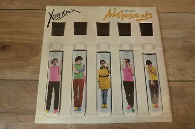 X-Ray Spex - Germ Free Adolescents 1979 UK LP EMI INTERNATIONAL 1st PUNK/KBD