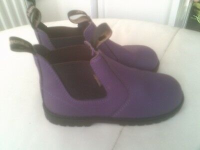 Chipmunks Jodhpur Boots Childrens Size 10,Purple Horse Riding Boots