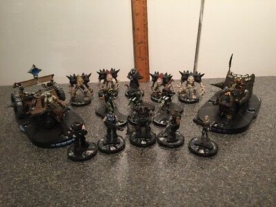 2001 Mage Knight And 2011 Halo Hero Clix Lot Army