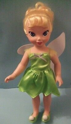 Disney Fairies Tinker Bell Doll 15'' inches tall by Playmates Toys