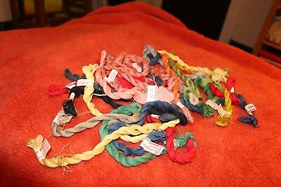 25 skiens Haandarbejdets Freemme Danish embroidery thread - assorted colors