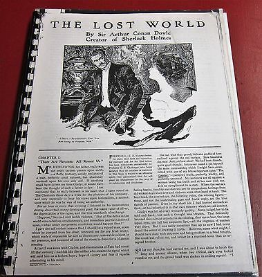 The Lost World---Serialization stitched together bound copy